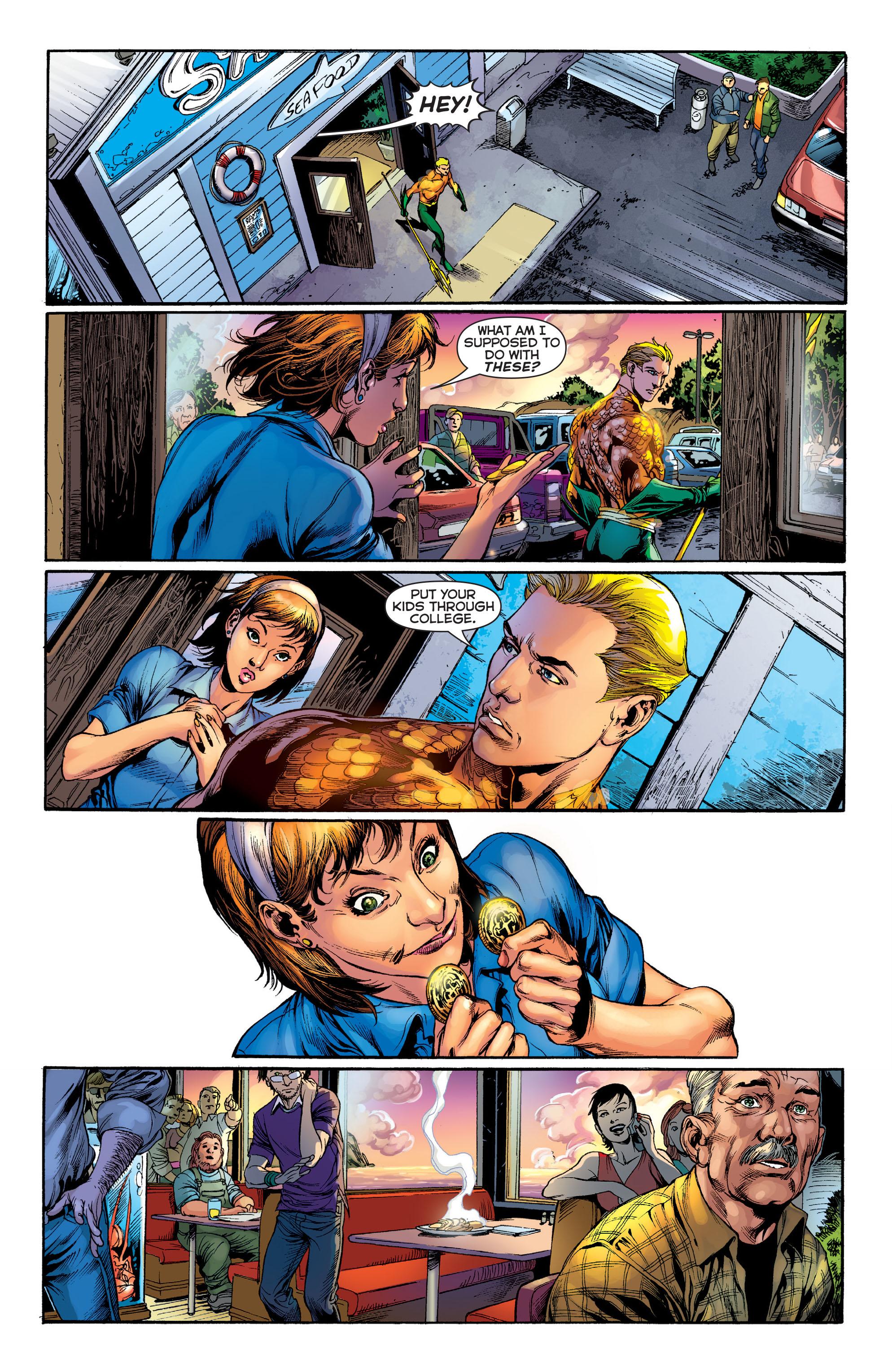 Read online Aquaman (2011) comic -  Issue #1 - 18