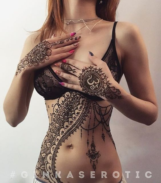 How To Make A Henna Tattoo Look Better And Last Longer