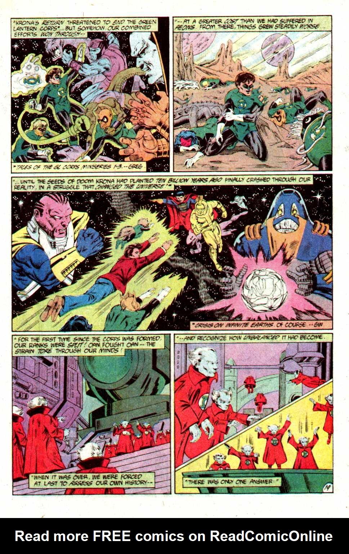 Read online Secret Origins (1986) comic -  Issue #23 - 21