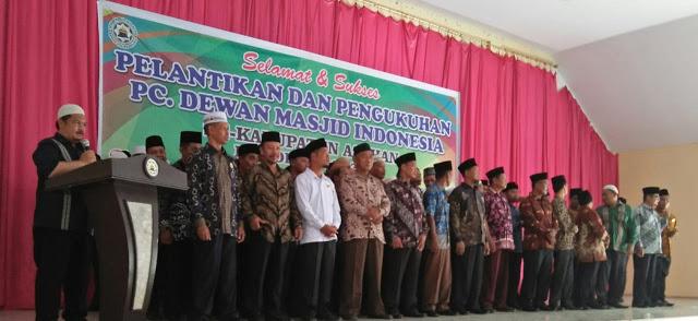 Pelantikan Pengurus DMI Kabupaten Asahan Periode 2019 -2024