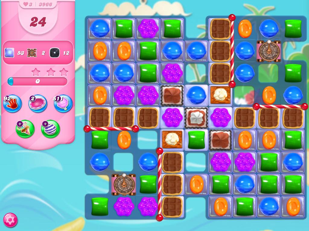 Candy Crush Saga level 3966