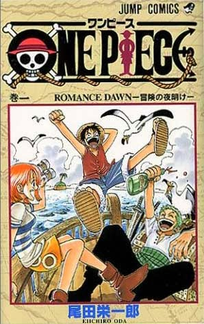 Capa Manga One Piece