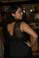 Wamiqa Gabbi in a sleeveless Black Designer Transparent Gown at 64th Jio Filmfare Awards South ~  Exclusive 110.JPG