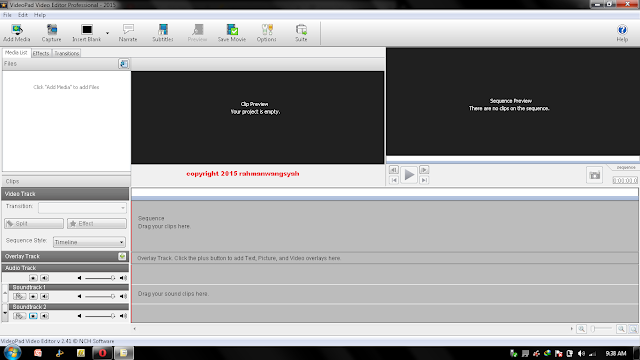 Video Editor untuk low spec pc terbaik dan ringan