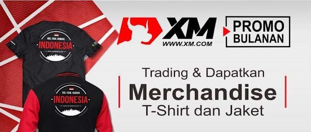 Dapakan Merchandise Gratis dari XM