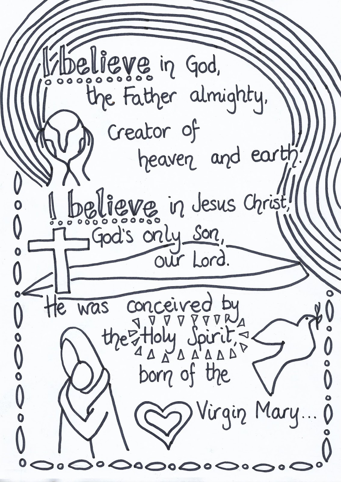 Flame: Creative Children's Ministry: Apostles' Creed ...