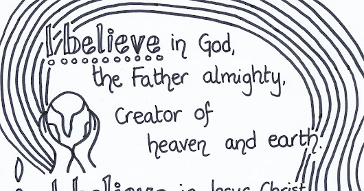 Apostles' Creed Reflective Colouring Sheets
