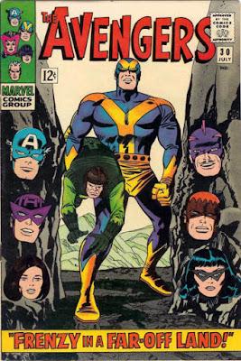 Avengers #30, Goliath