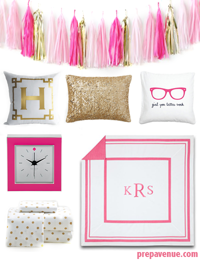 Decorating Ideas > Dorm Room Ideas  Prep Avenue ~ 183516_Gold Dorm Room Ideas