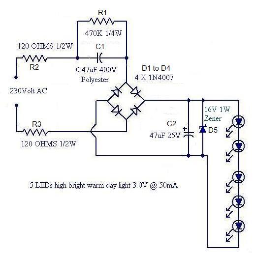 220v bulb diagram sekedar berbagi ilmu rangkaian led sederhana f350 bulb diagram