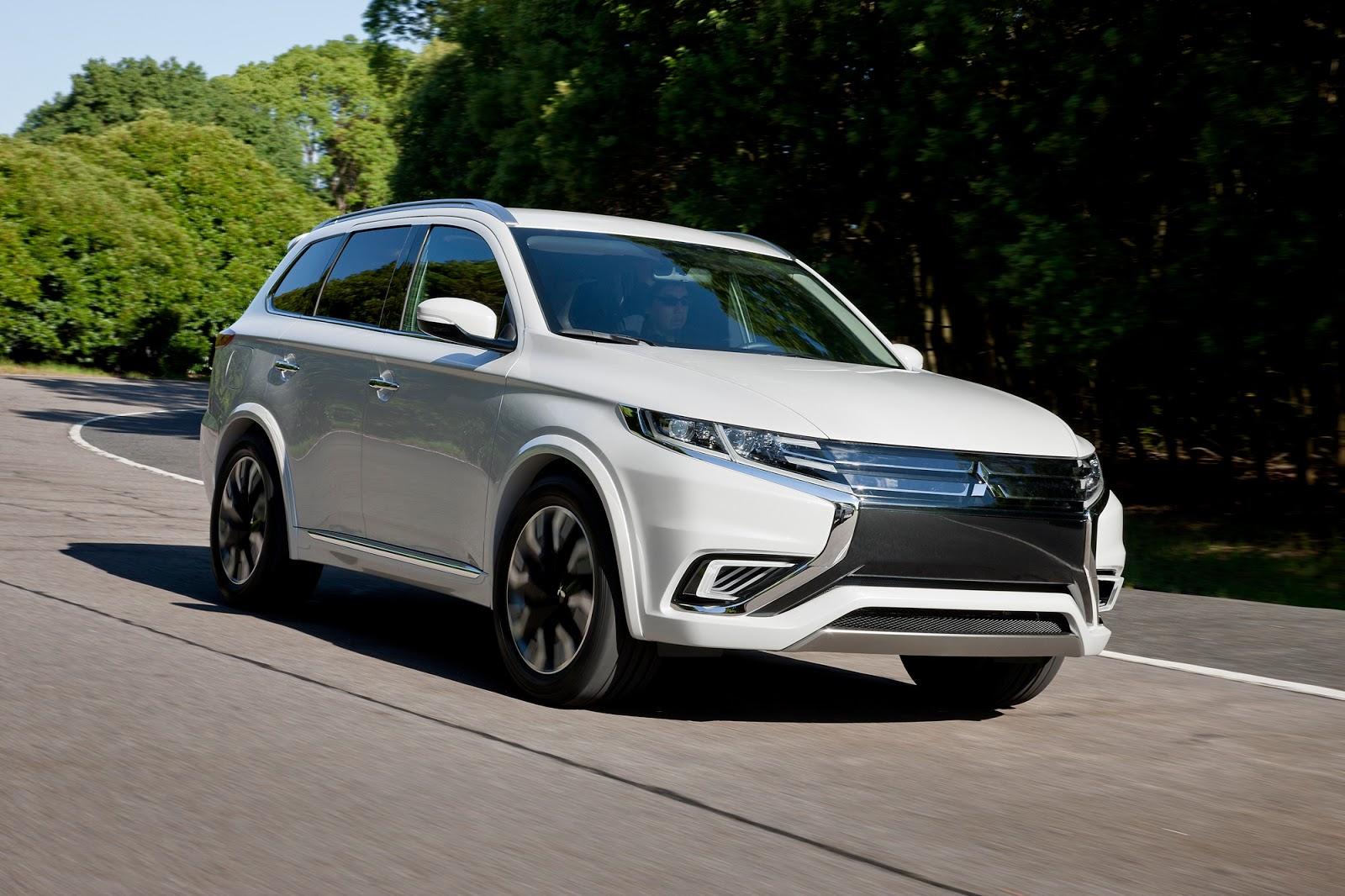 024 Το πρώτο ηλεκτρικό αυτοκίνητο με μόνιμη τετρακίνηση θα είναι στην αυτοκίνηση 2015 Mitsubishi, Mitsubishi Motors, Mitsubishi Outlander, Mitsubishi Outlander PHEV