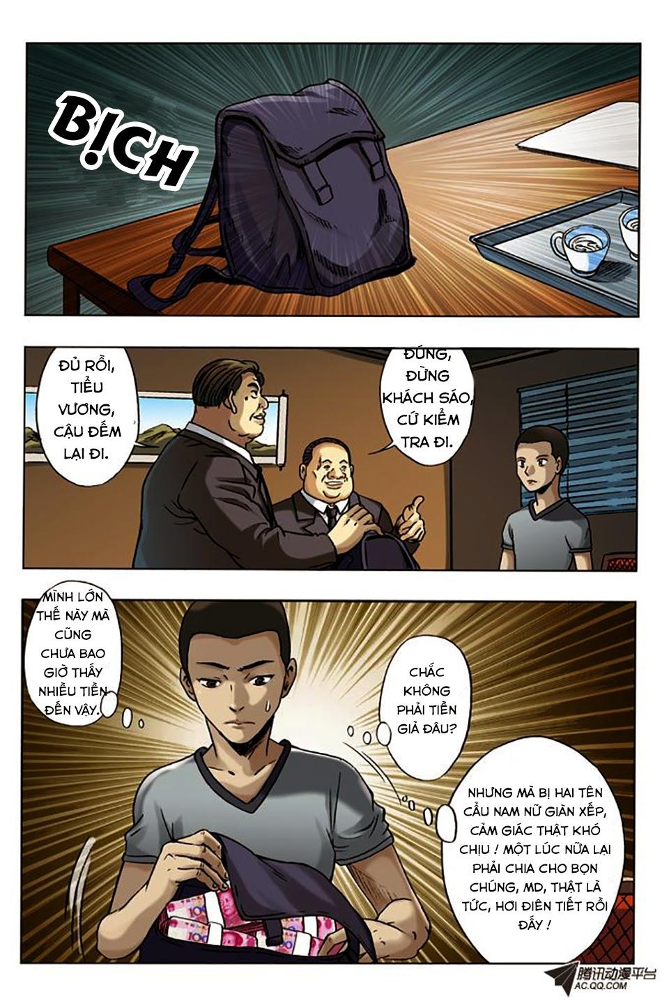 Trung Quốc Kinh Ngạc Tiên Sinh - Chap 9