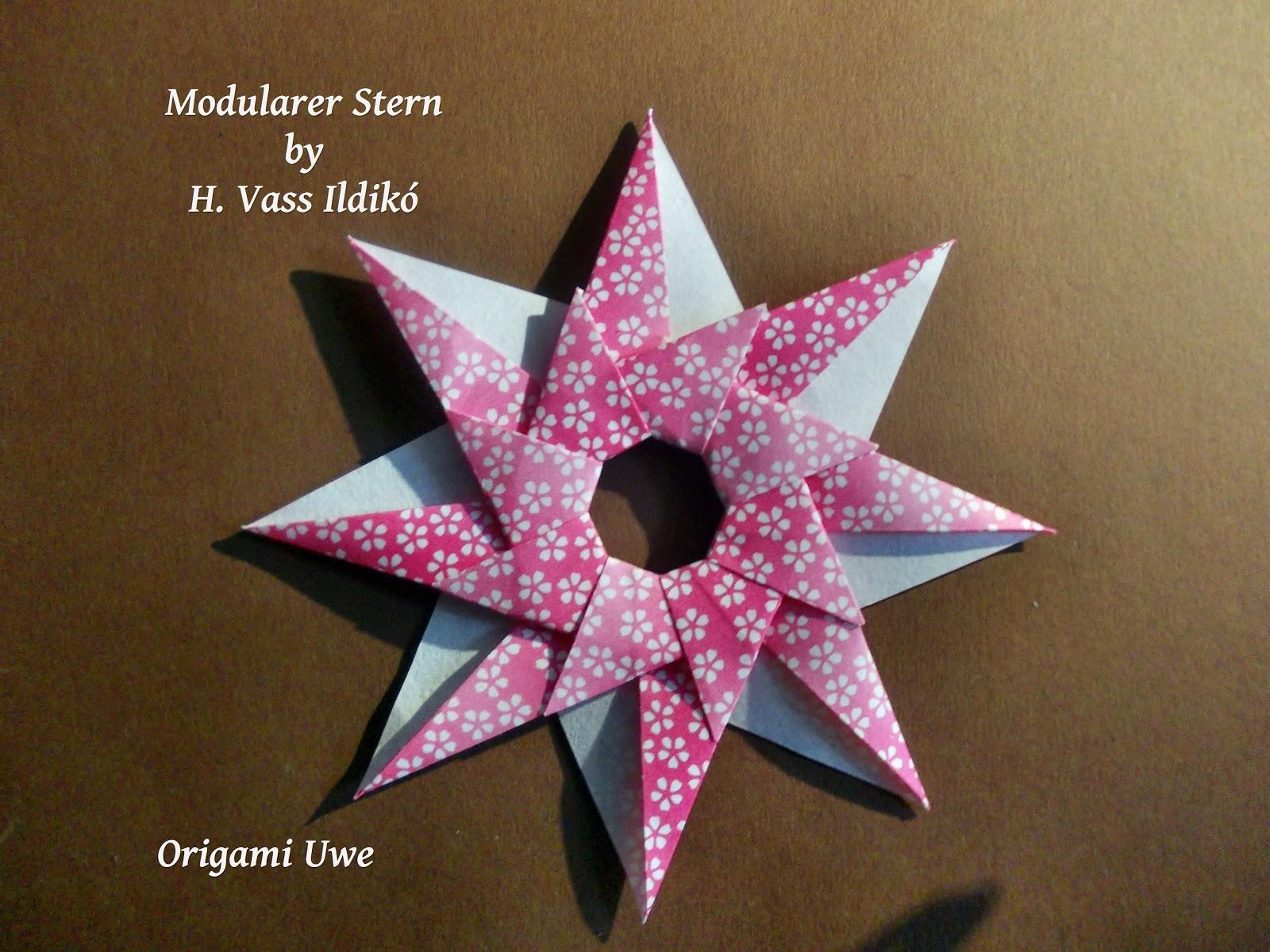 Origami Stern 5 Zacken : origami fleurogami und sterne sterne von h vass ildik ~ Watch28wear.com Haus und Dekorationen