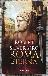 Portada del libro Roma eterna, de Robert Silverberg