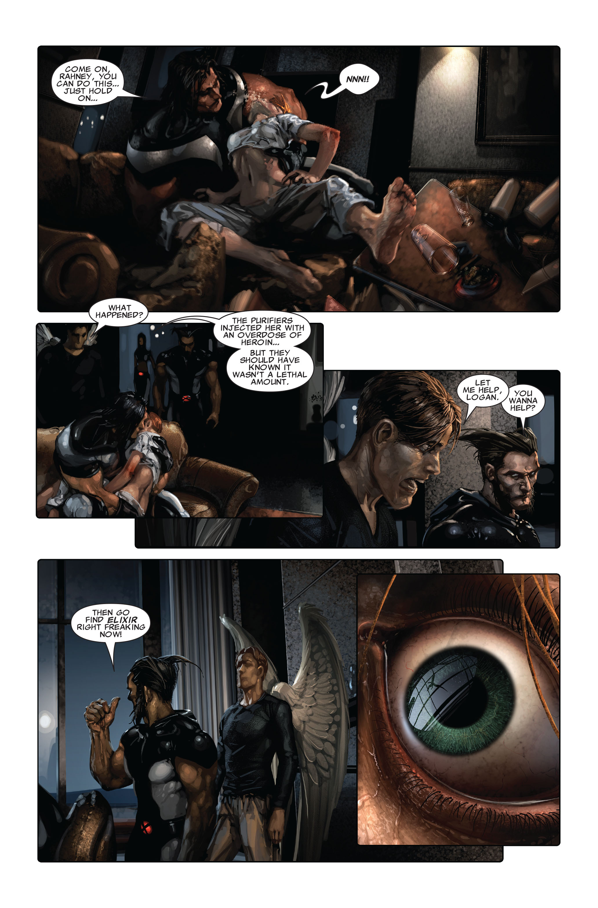 Read online X-Force (2008) comic -  Issue #3 - 21