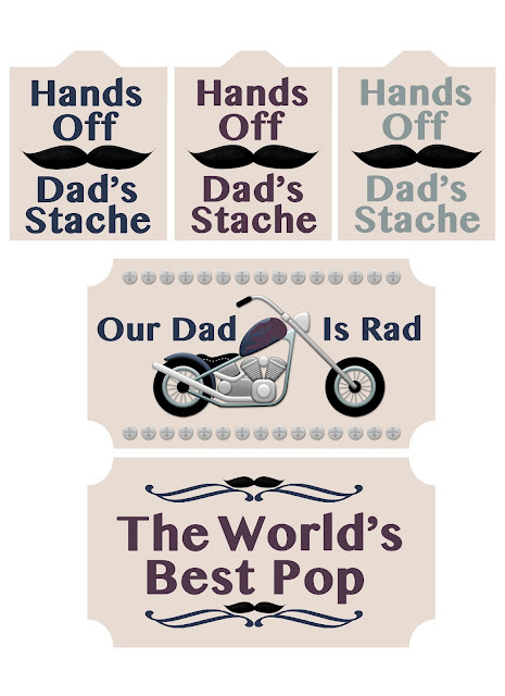 Free Father's Day Printables From The Cherry On Top