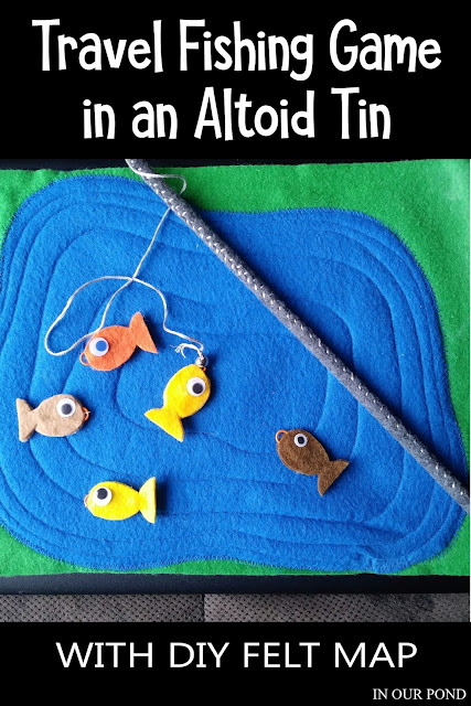 DIY Airplane Activities in an Altoid Tin for Kids // Party Through the USA
