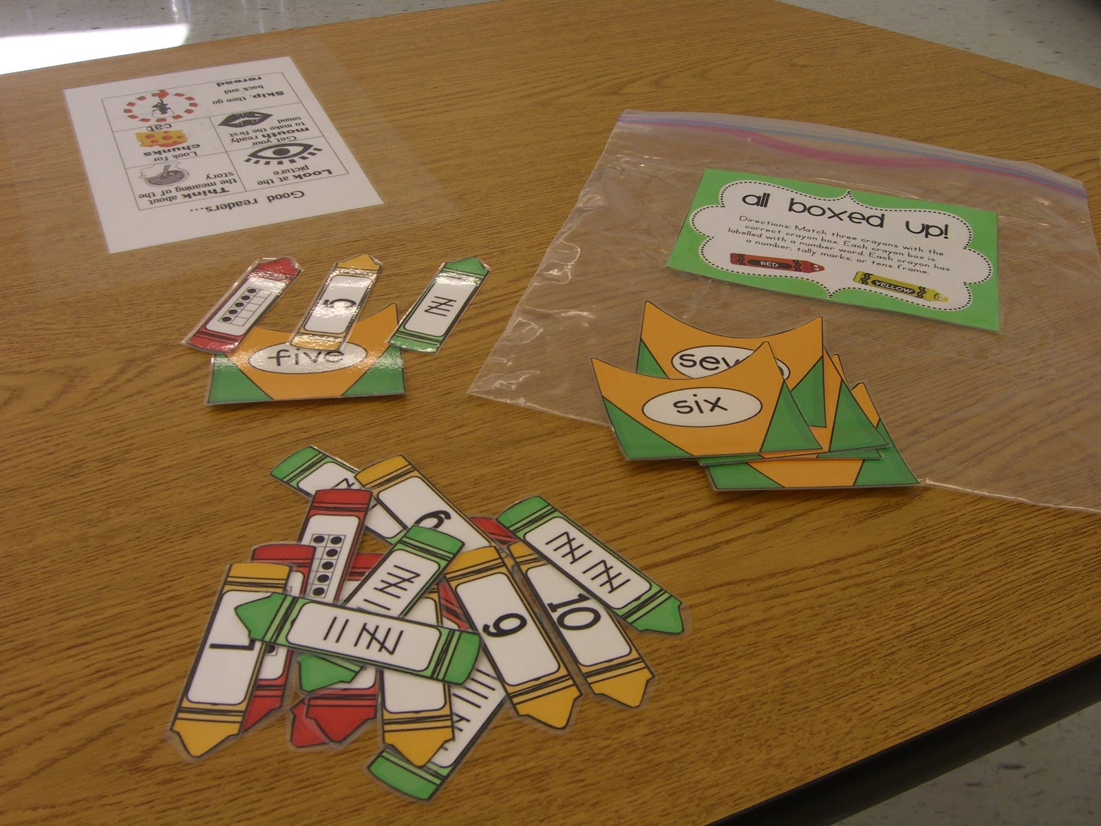 First Grade Garden Math Stations