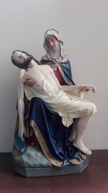 Pieta uit sint Pieterskerk, Torhout, bisdom Brugge