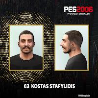 PES 6 Faces Kostas Stafylidis by El SergioJr