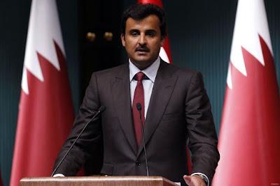 Tamim bin Hamad Al Thani of Qata
