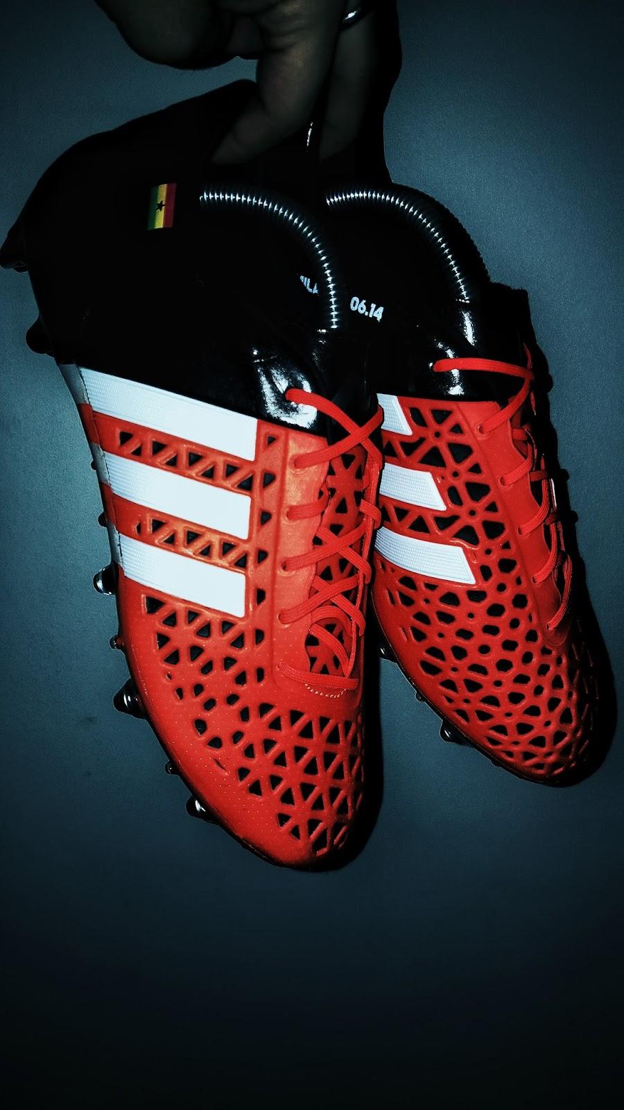 5b252d071fd Alex Tettey Custom adidas Ace 15.1 SG