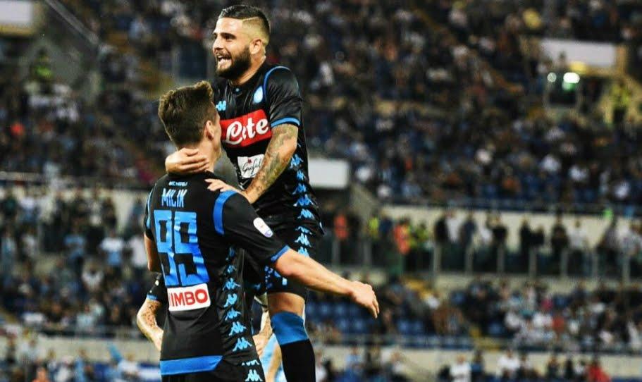 Il Napoli risponde alla Juventus vincendo in casa della Lazio 1-2 | Anticipo Serie A.