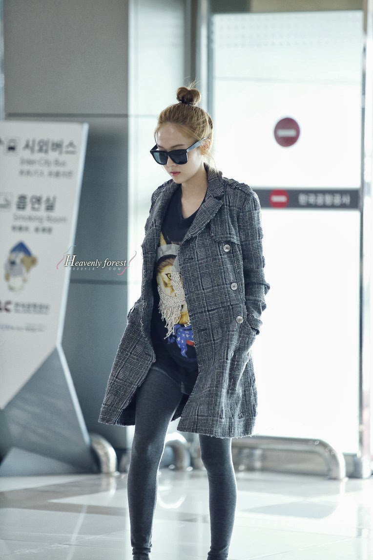 SNSD Jessica Airport Fashion