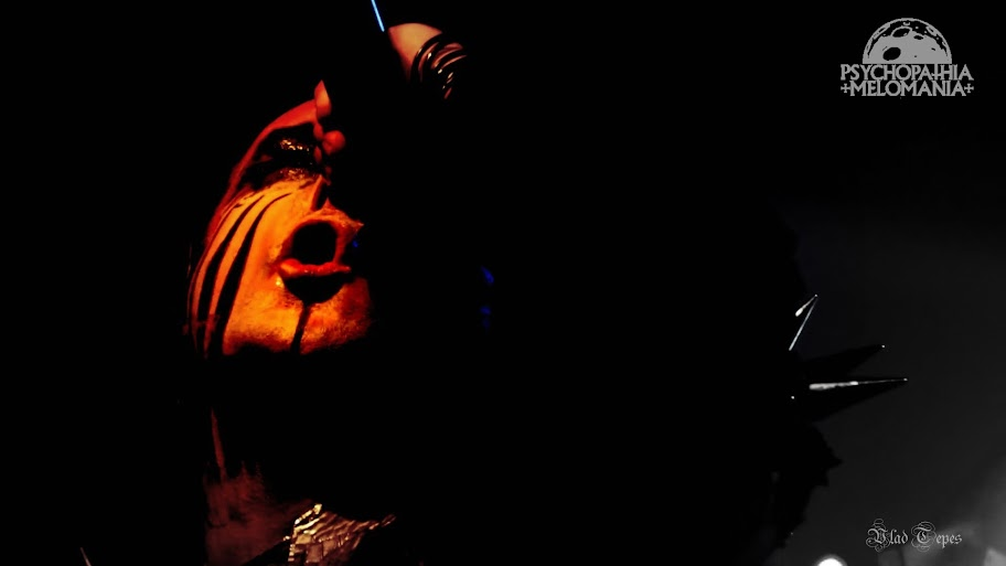 Dani Filth @Cradle of Filth, Cabaret Sauvage, Paris 28/10/2015