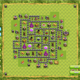 Strategi Clash Of Clans Town Hall Level 8 Terbaik