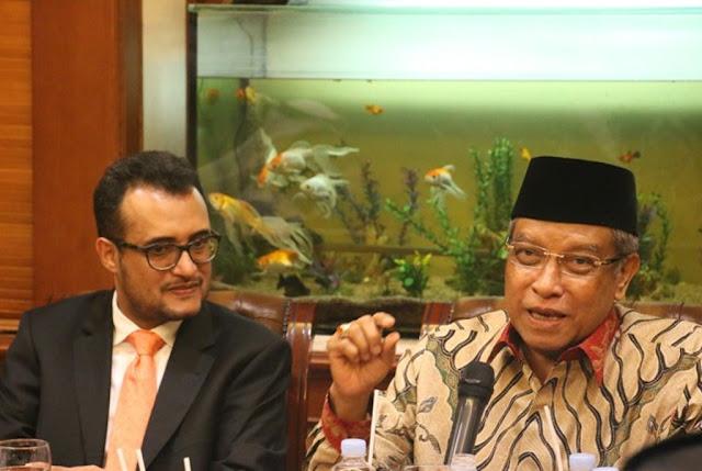 Kepada Dubes Arab Saudi, Kiai Said: Bahasa Indonesia Itu Mudah