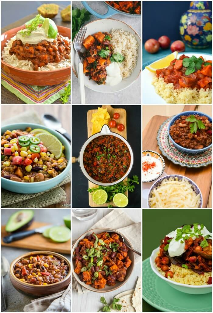 9 easy vegan tagines and chilli recipes