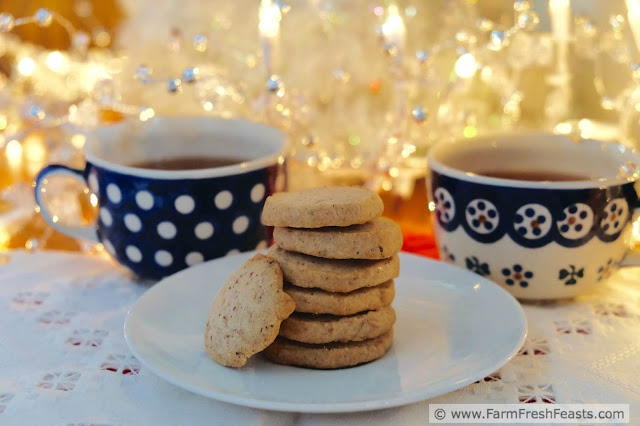A recipe for cranberry chai blended into a lightly sweet buttery cookie dough. This delectable cookie is tasty with afternoon tea or morning coffee.