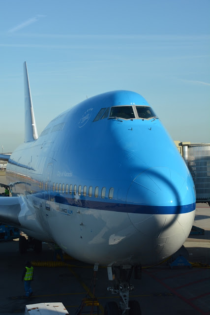 KLM Jumbo 747