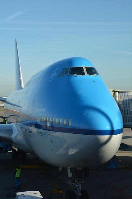 KLM Jumbo 747