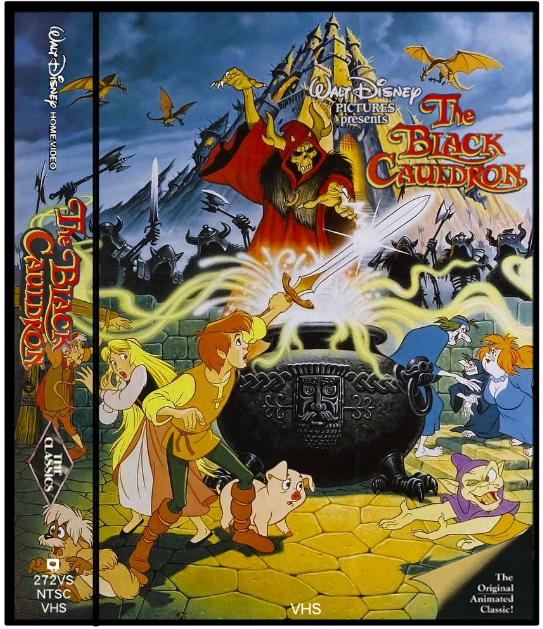 Imaxination's Video Corner: Updated Custom Disney VHS