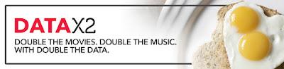 Source: Singtel website. Banner for the new DataX2 service.