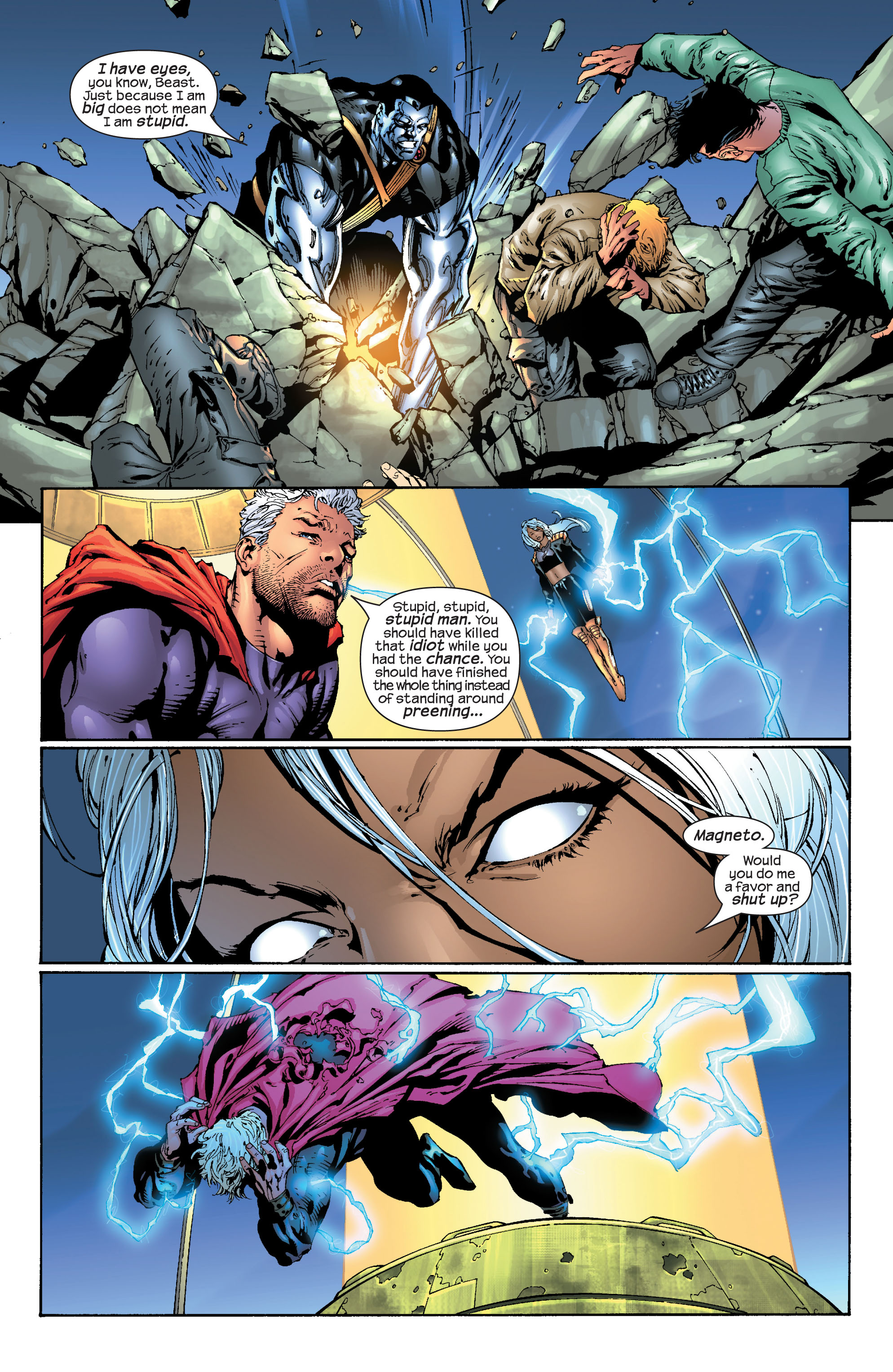 Read online Ultimate X-Men comic -  Issue #30 - 18