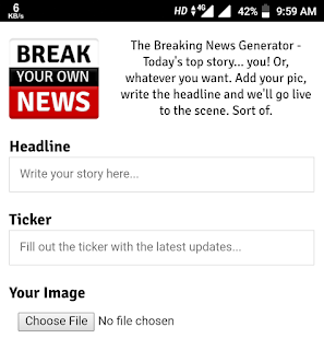 How to make breaking news memes on Android