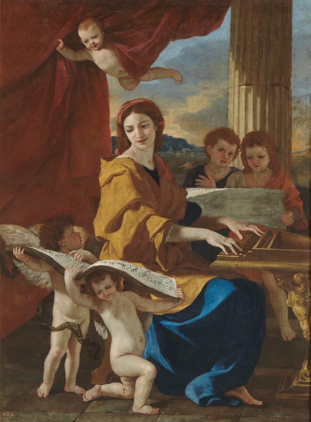 Nicolas Poussin   Saint Cecilia
