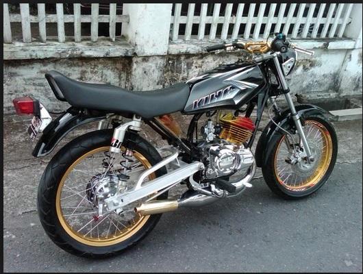 rx king 2004 hitam modif