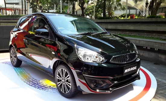 mitsubishi new mirage 2016