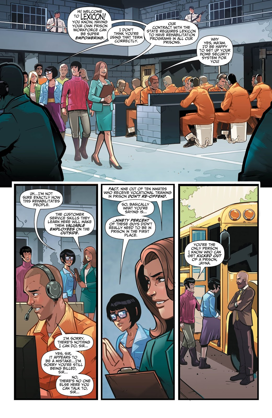 WONDER TWINS #2 Page 5. Image Courtesy of DC Entertainment.