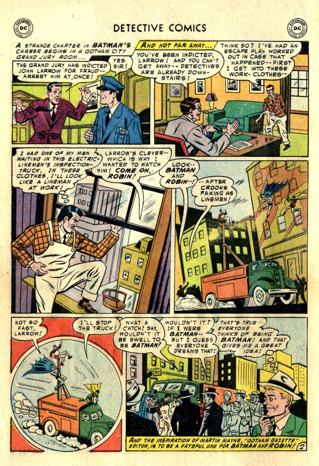 Detective Comics (1937) 225 Page 3