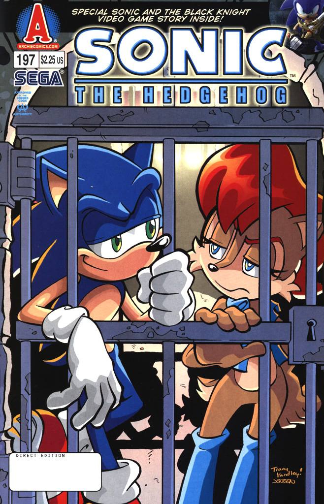 Read online Sonic The Hedgehog comic -  Issue #197 - 1