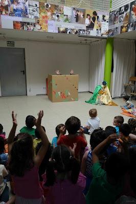 teatro para bebés , teatro infantil , escuela infantil