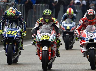 Ketika Petinggi Yamaha Kecewa Berat dengan Aksi Rossi di Jerman