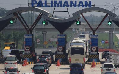Polisi: Kendaraan Keluar Gerbang Tol Palimanan Meningkat