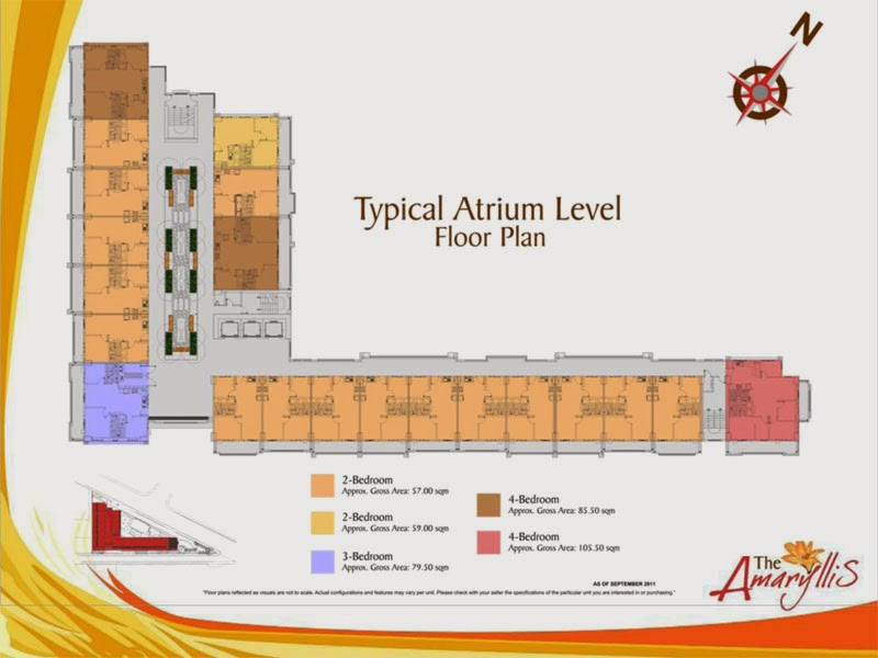 The Amaryllis Atrium Floor Plan
