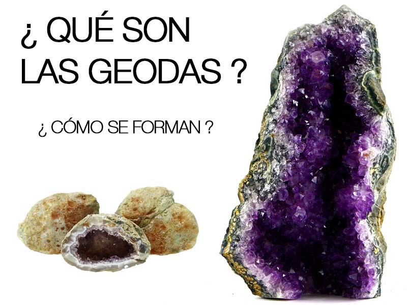 ¿Que son las geodas?